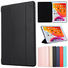 Magnetic Smart Cover Folding Leather Stand Silicone Case Cover For Apple iPad