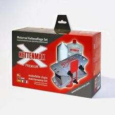 KETTENMAX Chain Cleaner Kit Set for Motorcycle Motorbike Chains Cleaning Machine