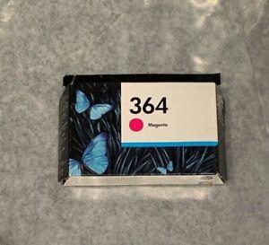 (NEW) 2 x Genuine HP 364 Ink Cartridge Magenta + Yellow, Expired June 2019