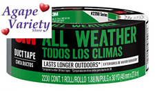 3m All Weather Duct Tape 188 Inches By 30 Yards Weather Silver