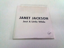 """JANET JACKSON """"JUST A LITTLE WHILE"""" CD SINGLE 1 TRACK"""