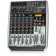 BEHRINGER XENYX QX1204USB 12-Input Mixer USB/Audio Interface Live + Warranty