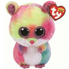 Ty Beanie Babies 36214 Boos Rodney the Pink Hamster Boo