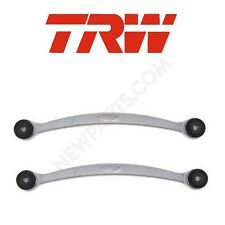 NEW For BMW Pair Set of 2 Rear Lower Rearward Control Arms with Bushings OEM TRW
