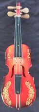 Toyo Black And Red Violin Music Box Musical Instrument