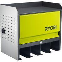 Ryobi Lockable Door Hanging Wall Tools Storage Box-All steel construction