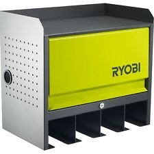 Ryobi Lockable Door Hanging Wall Tools Storage Box-All steel construction