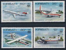 1982 KIRIBATI AIR TUNGARU SET OF 4 FINE MINT MNH