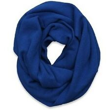 NWT Abercrombie and Fitch 100% Cashmere Scarf A&F Blue $200
