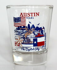 AUSTIN TEXAS GREAT AMERICAN CITIES COLLECTION SHOT GLASS SHOTGLASS