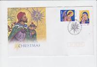 2005 Christmas FDC - St Mary's NSW 2760 inc International Stamp Australia J-411