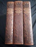 Nouvelle encyclopédie autodidactique illustrée d'enseignement moderne 3 tomes