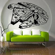 3D Star Wars Falcon Art-Vinyl-Bed Wall Sticker DIY Art Home Decoration