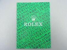 Rolex Übersetzung Heft 1986 Translation Booklet Vintage 565.00.250.2.86 ║ M1002