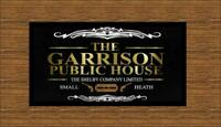 PERSONALISED Garrison shelby RUNNER. PUB / BAR / SHOP / HOME. peeky blinders