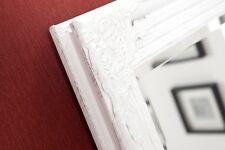 Miroir mural blanc / argent de sale bain frisierspiel Couloir Shabby