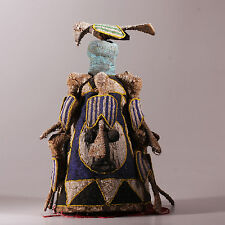 8266 Fine Yoruba Beaded headdress Nigeria