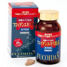 Fucoidan Extract Bulk Powder Capsules (Kanehide Bio) 300mg x 150 From Japan