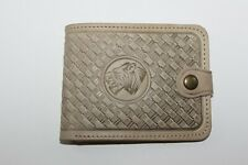 Mongolian 100% Pure leather hand crafted wallet for men