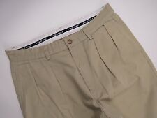 P4903 POLO GOLF TROUSERS PANTS PLEATED ORIGINAL PREMIUM MADE IN USA size 32/34