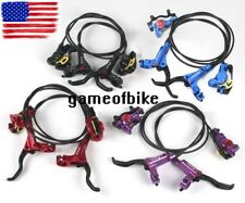 ZOOM MTB XC FR Bike Brake lever Calipers Hydraulic Disc Brakes Front & Rear set
