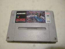 super nintendo SNES teenage mutant ninja turtles IV TMNT 4 GIG