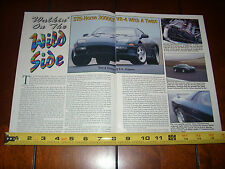 1993 MITSUBISHI 3000GT VR-4 575 H.P. - ORIGINAL 1994 ARTICLE