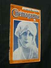 DEC 9, 1921 FRENCH CINEMAGAZINE Uncut Complete 29 pgs