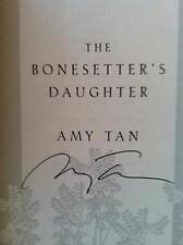 Amy Tan, BONESETTER'S DAUGHTER *SIGNED* 2001 HBDJ 1ST/1ST BRAND NEW!