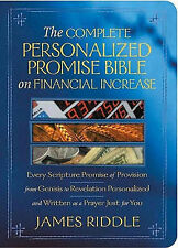 Complete Personalized Promise Bible on Financial Increase: Every Scripture Promi