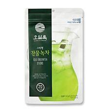 OSULLOC 20EA Cold Water Green Tea Sticks Oriental Cold Drink from Jeju Island