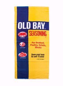 Old Bay Beach Towel - NEW
