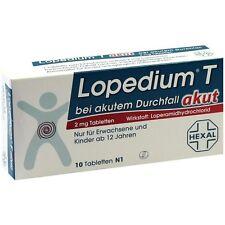 Lopedium T akut bei akutem Durchfall   10 st   PZN3928406