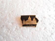 Vintage State of Iowa Capital Building Enamel Souvenir Pin