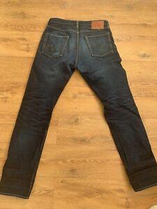 Iron Heart Jeans   IH-888S-RE   14.7oz Eco Selvedge Denim    Size 33