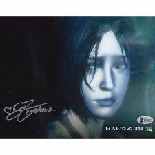 Halo 4 Jen Taylor Cortana Beckett BAS Hand Signed Photo COA Gaming Xbox Infinite