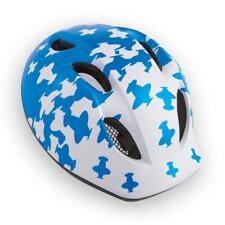 Childrens Bike Cycle Helmet MET Buddy Airplanes White Blue 46-53 cm