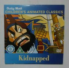 KIDNAPPED CHILDREN'S ANIMATED CLASSICS DAILY MAIL DVD PROMO VGC FREE P&P