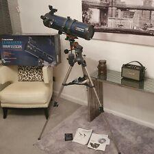 Celestron AstroMaster 130 EQ MD Reflector Telescope with full size tripod 31051