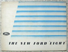 FORD EIGHT & EIGHT DE LUXE Car Sales Brochure March 1938 #U2626/338
