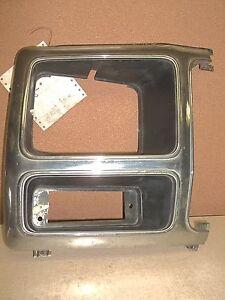 1980 Ford Bronco Chrome LH Left Headlight Bezel E0TB-13052 *FREE SHIPPING*