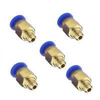 5x Stück Push Fitting PC4-M6 Remote Extruder Verbinder 4mm Schlauch Einstecken