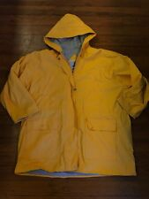 Misty Harbor Lined Rain Yellow Jacket Zip Up Size 3XL