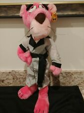 "Vintage Pink Panther Touch of Velvet 1980 Plush Collectible Toy 18"" with tag"