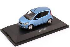 1:43 Opel Agila B 2008 Maroc Bleu Bleu - Dealer-Edition - Schuco