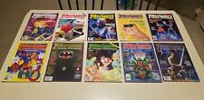 Video Games & Computer Entertainment Magazine (VG&CE) 10 Total Issues (1989-91)