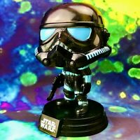 Shadow Stormtrooper Gamestop Exclusive Star Wars Funko POP! #394 *Damaged Box*
