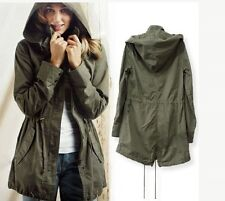 Military  Parka Jacket in green