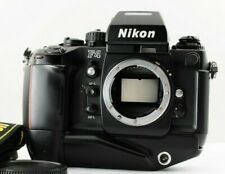 Excellent+++  Nikon F4S 35mm SLR MB-21 Genuine Leather Strap from JAPAN