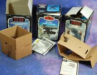 BOX ONLY LOT ~Vintage Star Wars Mini-Rig ~Vehicle Maintenance Energizer Kenner